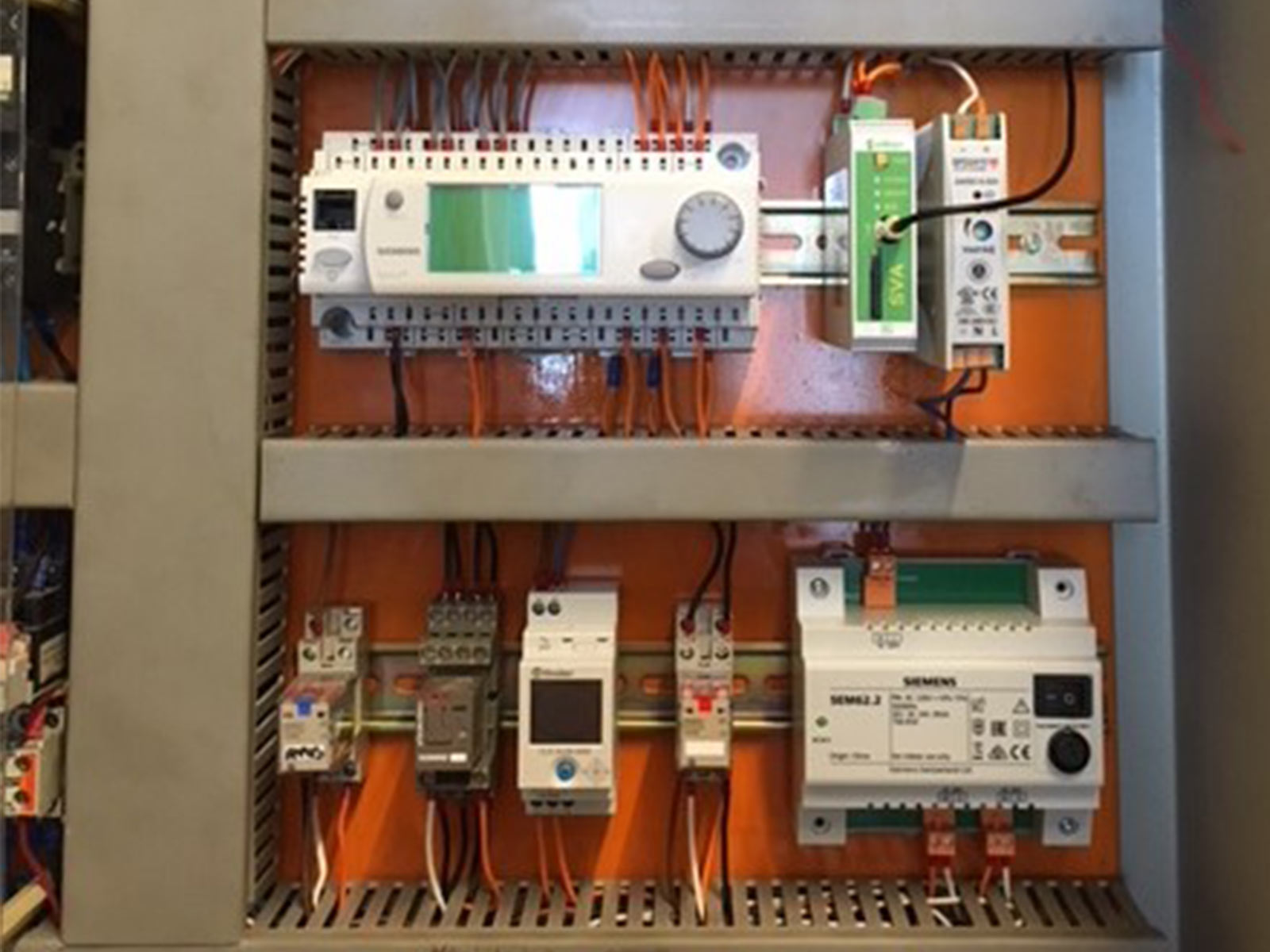SVA-3G for monitoring boiler room alarms